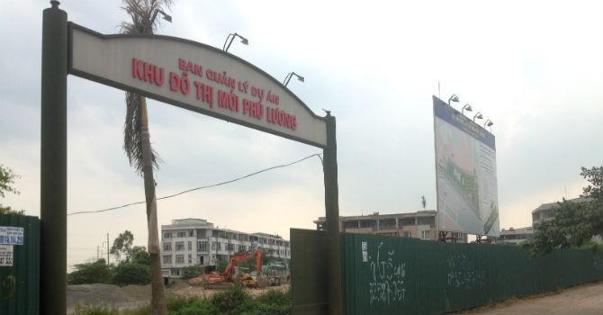 """""""Phớt lờ"""" lệnh Cục Thuế, dự án Phú Lương chỉ nộp 10 tỷ đồng nợ thuế đất"""