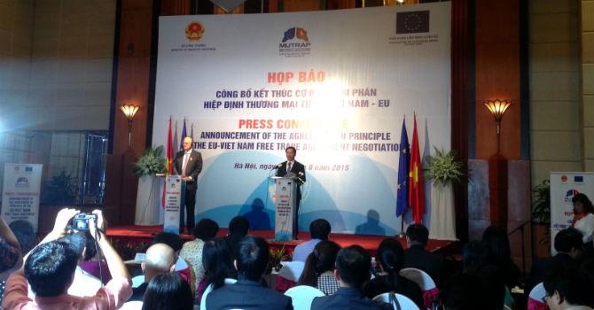 FTA Việt Nam - EU: 65% hàng Việt vào EU thuế suất 0%