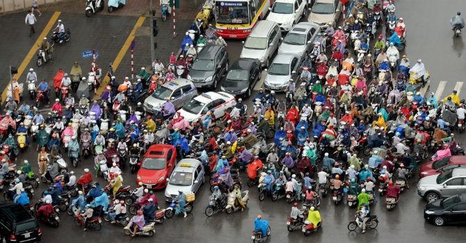 Bộ Tài chính đề nghị không thu phí đường bộ xe máy từ năm 2016