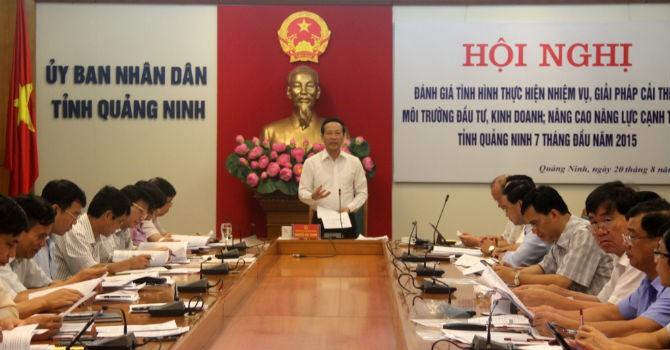 Quảng Ninh: Cải thiện môi trường đầu tư gắn trách nhiệm người đứng đầu