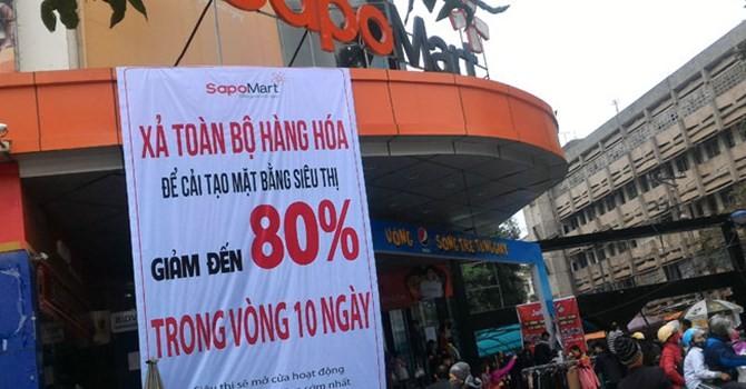 Thị trường tuần qua: Thêm một siêu thị lớn sắp rời thị trường