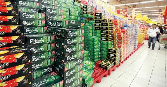Sản lượng bia Sabeco gấp gần 4 lần Habeco