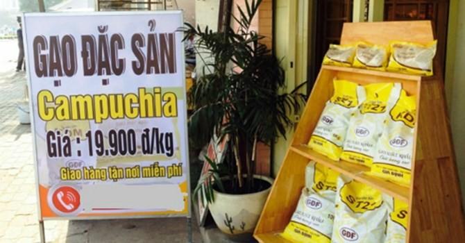 Thị trường tuần qua: Tràn ngập gạo Campuchia tại… vựa lúa lớn nhất Việt Nam
