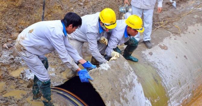 Vụ đường ống nước sông Đà: Kiến nghị tạm dừng ký hợp đồng với nhà thầu Trung Quốc