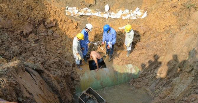 Dự án đường ống nước sông Đà sẽ huỷ hợp đồng với nhà thầu Trung Quốc?