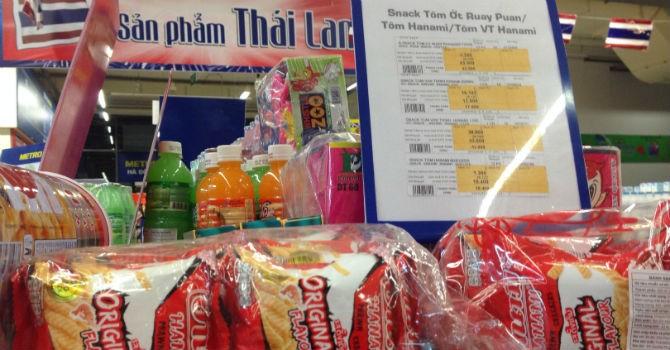 """Thị trường 24h: Hàng Thái """"thống trị"""" từ đôi dép, bàn chải đánh răng"""