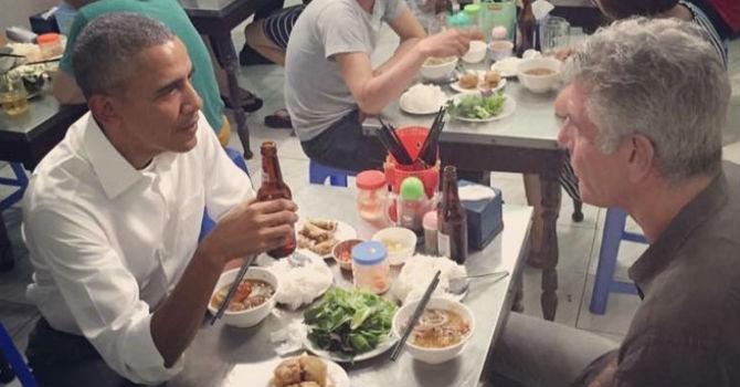 Bữa tối 6 USD của Tổng thống Obama và đầu bếp Mỹ nổi tiếng