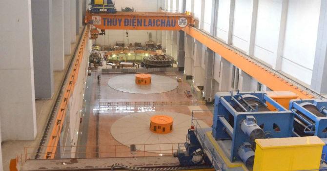 Chính thức hoà lưới điện tổ máy số 2 Thuỷ điện Lai Châu