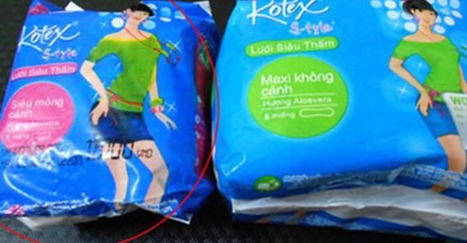 Thị trường 24h: Siêu lợi nhuận từ việc kinh doanh băng vệ sinh giả