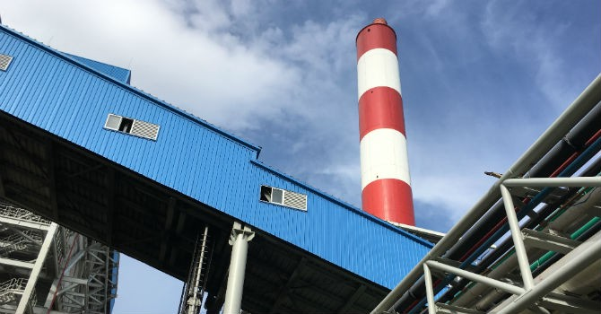 Nhiệt điện Duyên Hải 1 phát bản tin môi trường trên loa thị xã