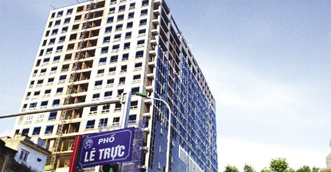 Chủ đầu tư dự án 8B Lê Trực đã khởi kiện UBND quận Ba Đình