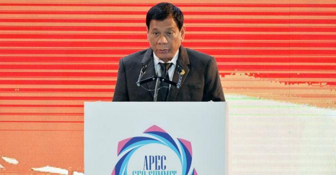 """Tổng thống Philippines: """"Không cần viện trợ nhân đạo, chúng tôi cần cơ hội tiếp cận thị trường"""""""