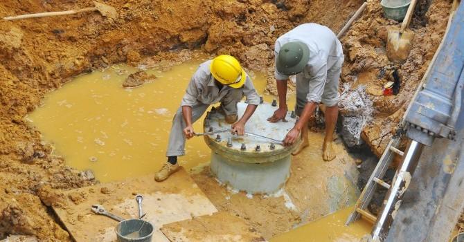 Lại vỡ đường ống nước sông Đà