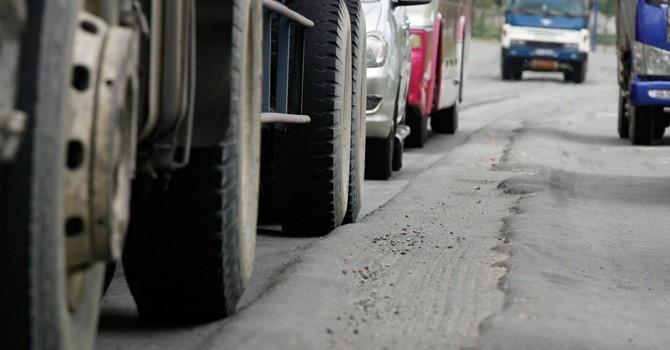 Dừng thu phí quốc lộ 1A qua TP. Đông Hà nếu không sửa xong đường lún