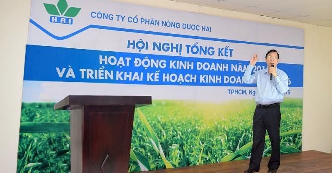 Nông Dược HAI: Năm tài chính 2015 ước đạt 107 tỉ đồng lợi nhuận trước thuế