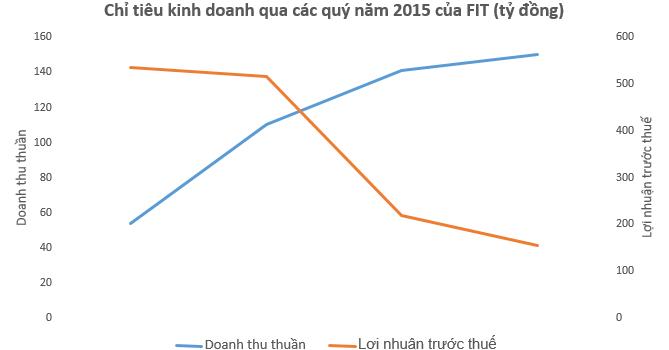 FIT: Hướng vào kinh doanh ít rủi ro, lãi ròng quý IV giảm 49,6%