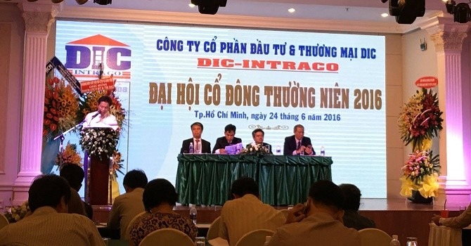 ĐHĐCĐ DIC: Dự kiến quý III/2016 sẽ thu hồi vốn góp vào dự án Trần Hưng Đạo
