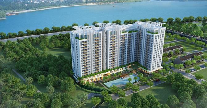 Chỉ khoảng 1,4 tỷ có thể sở hữu căn hộ 2 phòng ngủ đầy mảng xanh giữa lòng thành phố?