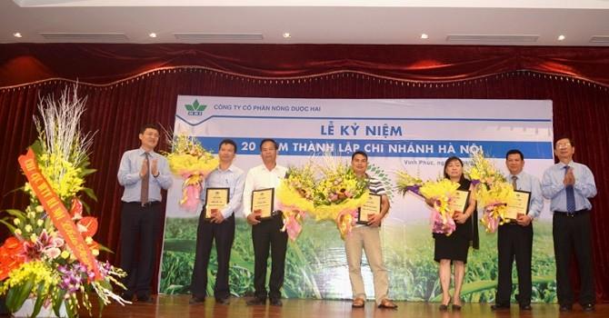 Nông Dược Hai kỷ niệm 20 năm thành lập chi nhánh Hà Nội