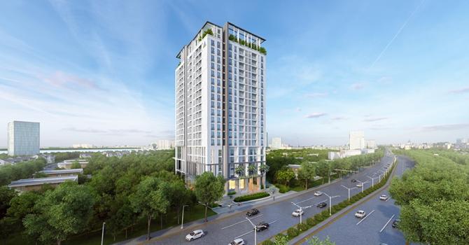 Tập đoàn Đất Xanh giới thiệu căn hộ mẫu dự án cao cấp Opal Skyview