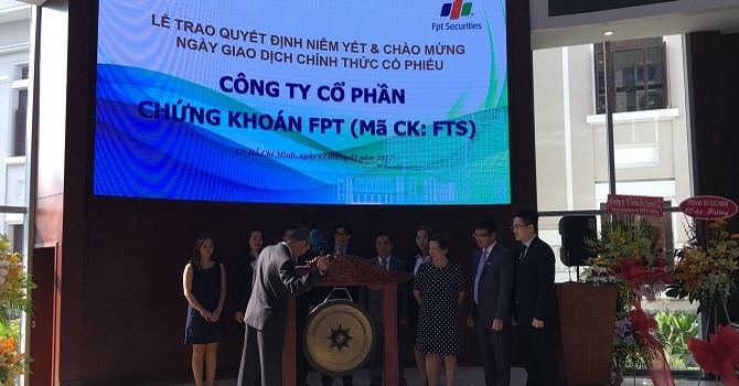 Chứng khoán FPT: Năm 2016 ước đạt 135 tỷ đồng lợi nhuận sau thuế