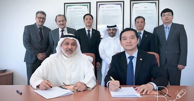 Hòa Bình trúng thầu dự án lọc dầu ở Kuwait