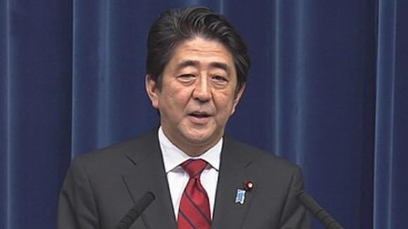 Thủ tướng Abe chỉ trích Trung Quốc đơn phương gia tăng căng thẳng