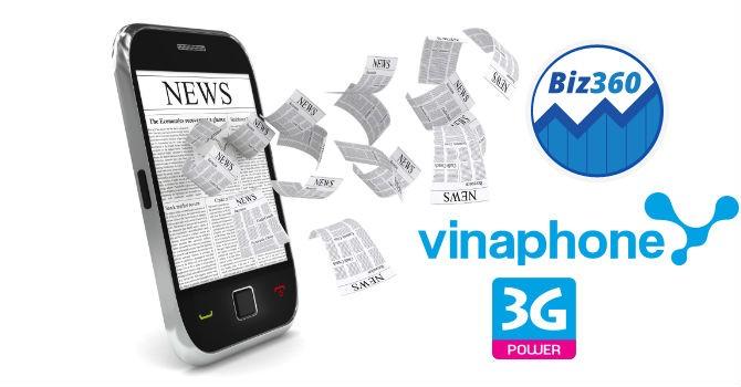 VinaPhone giới thiệu dịch vụ Biz360 - Cổng thông tin tài chính