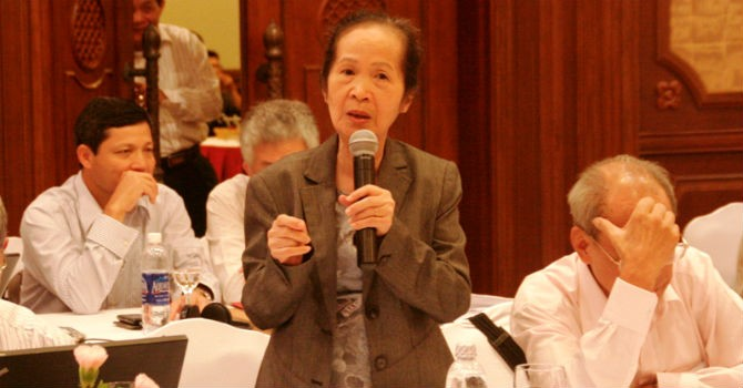"""Bà Phạm Chi Lan: """"Đừng nói doanh nghiệp tư nhân chưa đủ mạnh"""""""