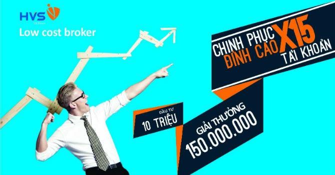 HVS Chinh phục đỉnh cao: X15 tài khoản chỉ trong vòng 5 tháng