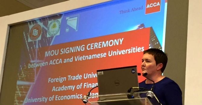 Việt Nam hợp tác với Anh nâng cao chất lượng đào tạo sinh viên kinh tế