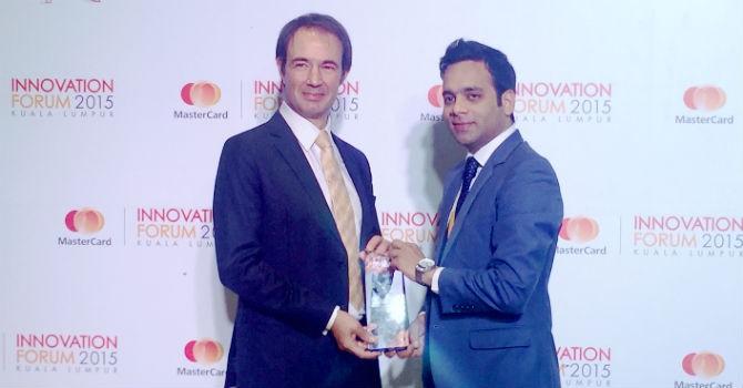 """Thẻ thanh toán VIB đạt giải """"sáng tạo toàn cầu tốt nhất"""" của MasterCard"""