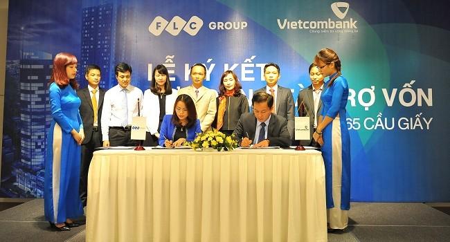 Vietcombank tài trợ cho khách hàng mua nhà tại FLC Twin Towers