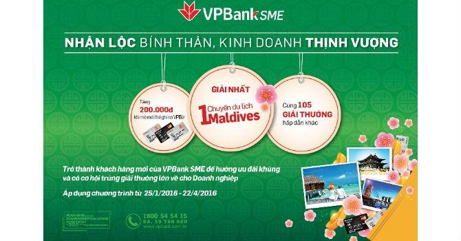 Khách hàng SME của VPBank được tặng chuyến du lịch đến Maldives