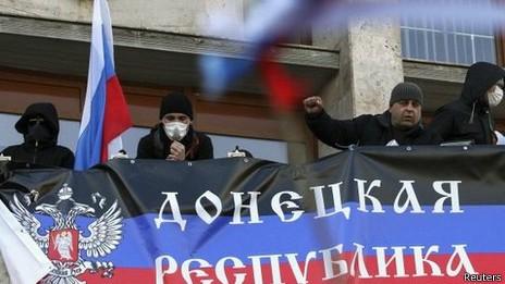 """Ukraine: Thành lập cộng hòa Donetsk và """"cái bẫy"""" của Moscow"""