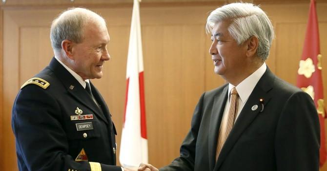 Mỹ thúc Nhật Bản mở rộng tuần tra tới Biển Đông