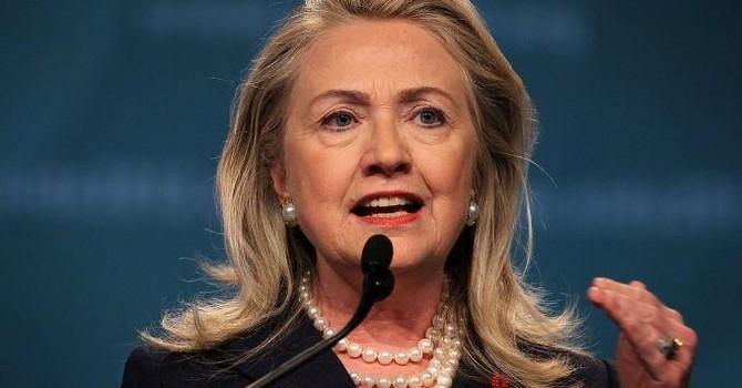 Bà Clinton chính thức tranh cử Tổng thống Mỹ