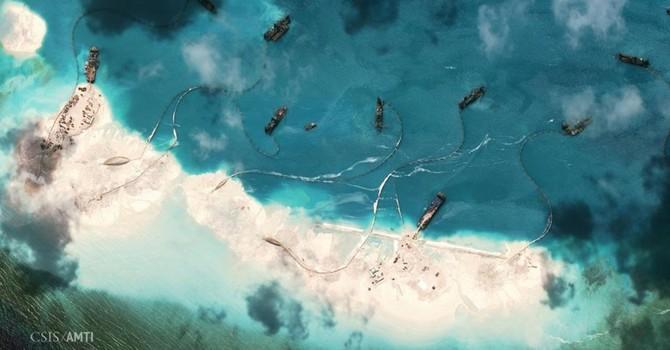 Philippines tố Trung Quốc phá hoại rạn san hô ở Biển Đông