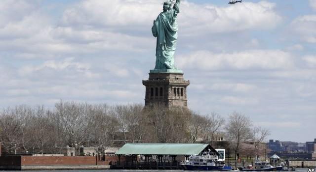 Đe dọa đặt bom tượng Nữ thần Tự do ở Mỹ