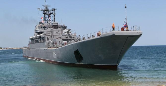 Hạm đội Biển Đen tập hợp chuẩn bị Duyệt binh Chiến Thắng