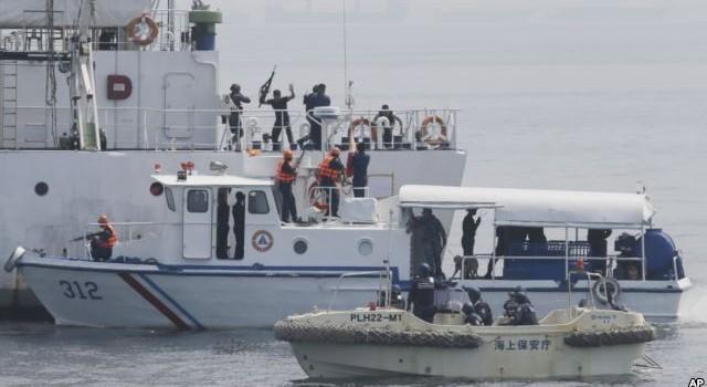 """Nhật Bản, Philippines diễn tập """"chống hải tặc"""""""