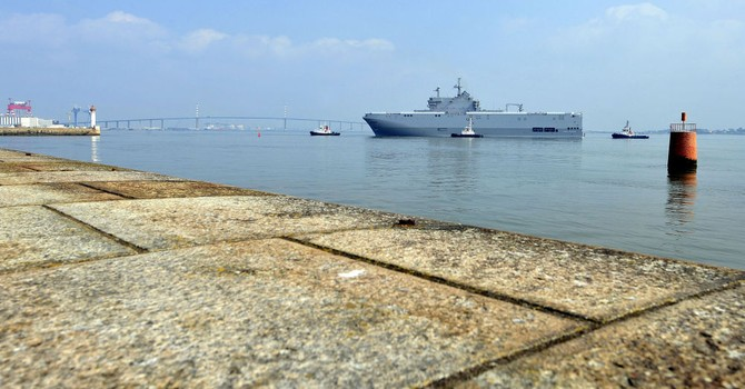 Các tàu Mistral của Nga khiến Pháp tốn 5 triệu euro/tháng