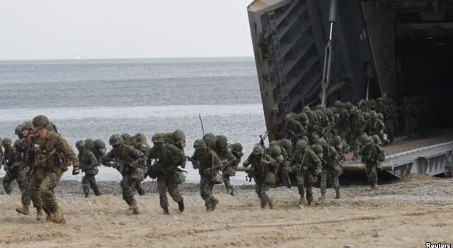 Việt Nam học hỏi kinh nghiệm đổ bộ của Mỹ