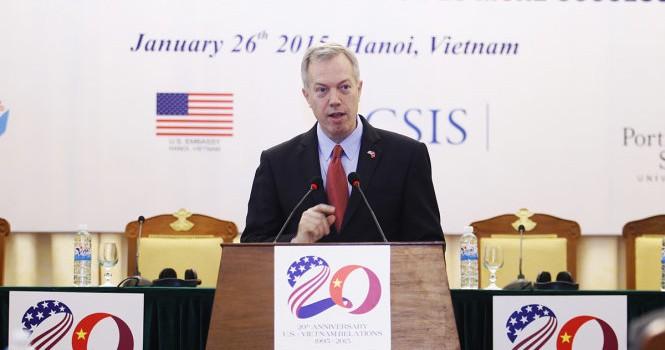 Đại sứ Hoa Kỳ: Hành động của Trung Quốc khiến Mỹ gần với Việt Nam hơn