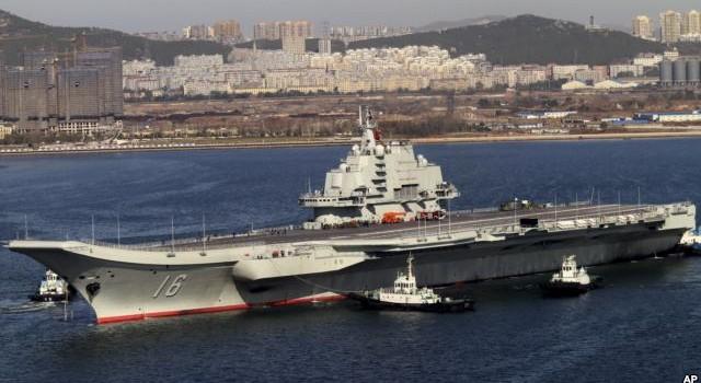 Trung Quốc đem tàu sân bay ra biển tập trận nhằm mục đích gì?
