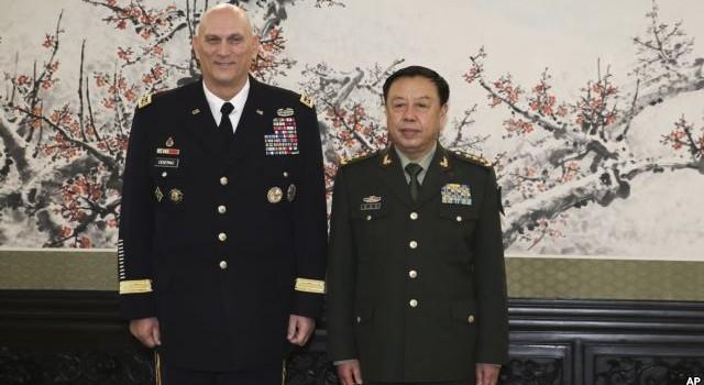Trung Quốc và Mỹ bắt tay hợp tác trong lĩnh vực quân sự