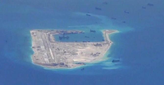Tiết lộ hình ảnh Đá Chữ Thập, nhưng Trung Quốc lại ém nhẹm cơ sở quân sự
