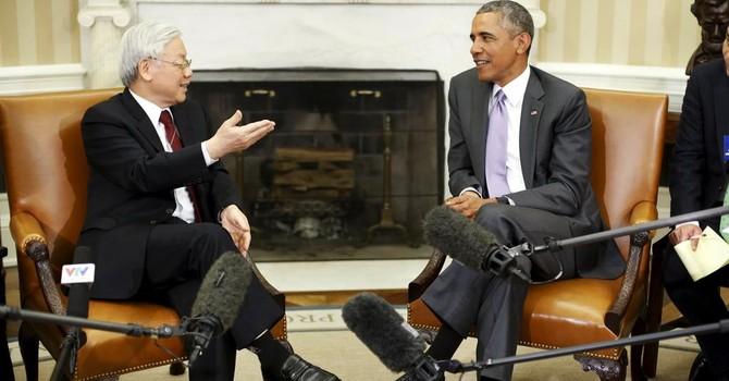 """Cuộc hội đàm với Tổng thống Obama là """"thân thiện, mang tính xây dựng và thẳng thắn"""""""