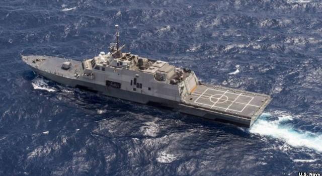 Tàu chiến Mỹ hoàn tất tuần tra Biển Đông