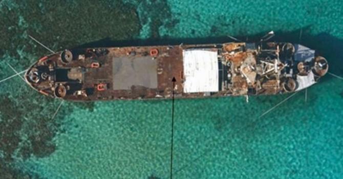 Philippines sửa chiến hạm mắc cạn trên bãi Cỏ Mây làm căn cứ?